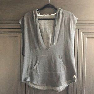 Victoria Secret sleeveless sweatshirt size medium